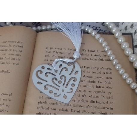 Marturii nunta semn de carte inima