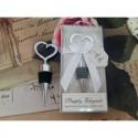 Marturie nunta dop pentru sticla inima in cutie