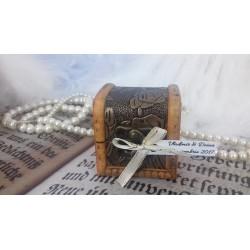 Marturie nunta cufar lemn