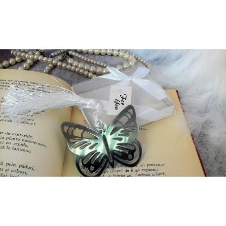 Marturii sau de botez semn de carte fluture