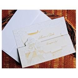 Invitatie nunta cu flori 31318
