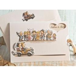 Invitatie nunta comica 31508