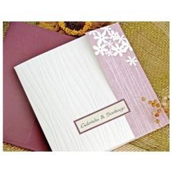 Invitatie nunta cu motive florale 32717