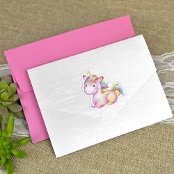 Invitatie botez unicorn DC15611
