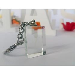 Marturie nunta breloc cristal