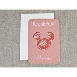 Invitatie botez pasaport Minnie 15706