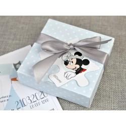 Invitatie botez puzzle Mickey 15707