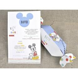 Invitatie botez bomboana Mickey 15721