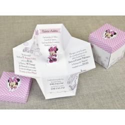 Invitatie botez cutie Minnie 15728