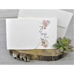 Invitatie nunta cu flori 39331