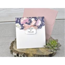 Invitatie nunta cu flori 39336