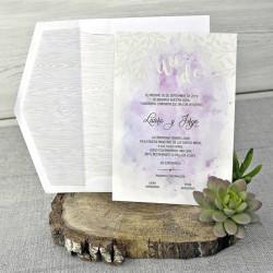 Invitatie nunta acuarela 39304