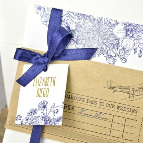 Invitatie nunta cu avion 39325