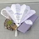 Invitatie nunta evantai 39332