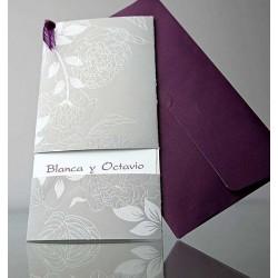 Invitatie nunta eleganta 34906