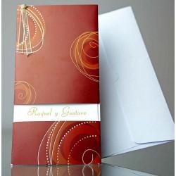 Invitatie nunta eleganta 34907