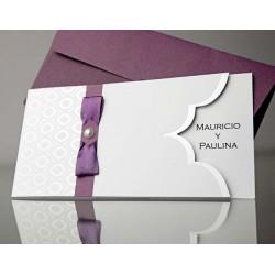 Invitatie nunta eleganta 34916