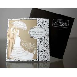 Invitatie nunta eleganta 34944