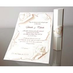 Invitatie nunta papirus 34953