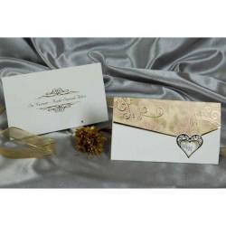 Invitatie nunta cu inimi 30043