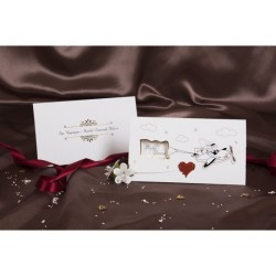 Invitatie nunta cu miri 30045