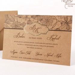 Invitatie nunta cu flori 70196