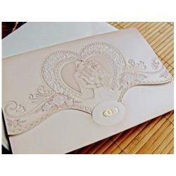 Invitatie nunta eleganta 31316