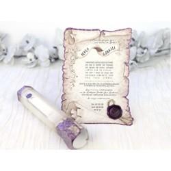 Invitatie nunta tip papirus 39215