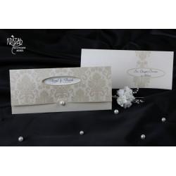 Invitatie nunta eleganta vintage 60302