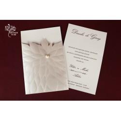 Invitatie nunta eleganta 70188