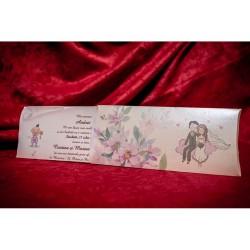 Invitatie botez unicorn BC5011